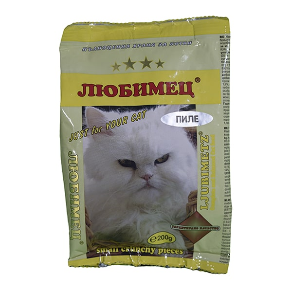 Любимец коте Пиле 200 grama-min