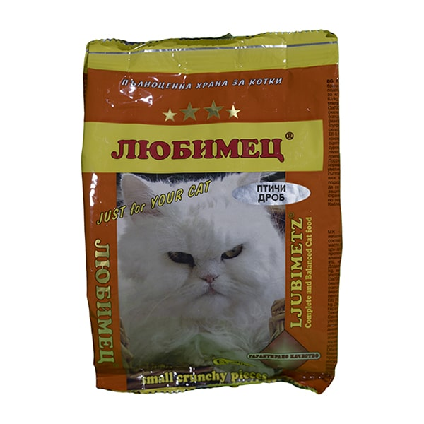 Любимец коте Птичи дроб 200 grama-min