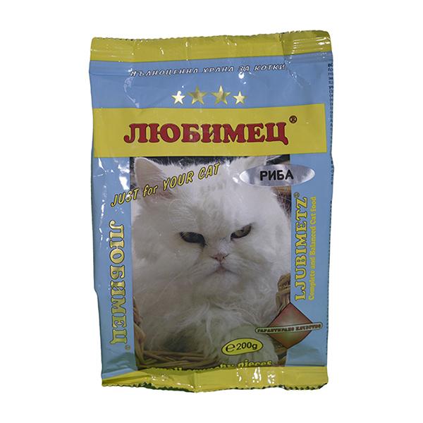 Любимец коте Риба 200 grama